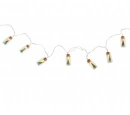 "LED-vanik ""Jõulupudelid"" (2x4 cm x 110 cm) 0"