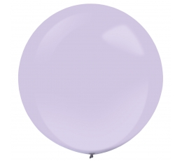 Lillakas ümmargune õhupall (61 cm)