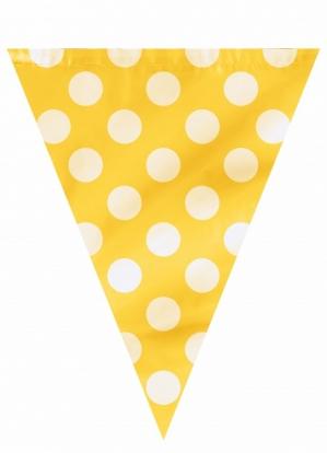 Lipuvanik, kollane täppidega (3,65 m)