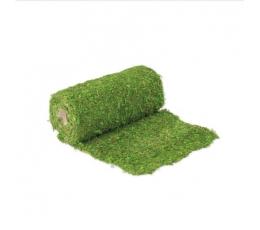 Looduslikust samblast valmistatud lauakaunistus, roheline (30x200 cm)