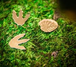 Looduslikust samblast valmistatud lauakaunistus, roheline (30x200 cm) 1