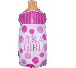 "Lutipudelikujuline õhupall ""It's a girl"" (25x58 cm)"