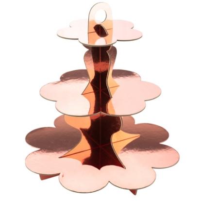 Maiustuste alus, roosakaskuldne (3 korruseline)