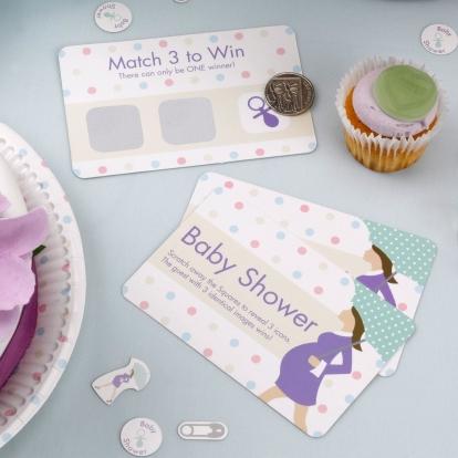 "Mäng - loterii ""Baby Shower""  (10 kaarti)"