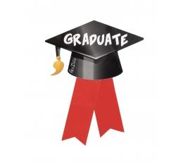 """Märk """"Graduate"""" (10 cm)"""
