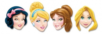 "Mask ""Disney princess"" (4 tk)"