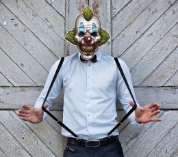 """Mask """"Kuri kloun"""" 2"""