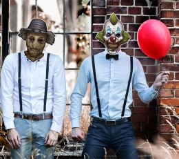 """Mask """"Kuri kloun"""" 0"""