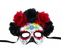 """Mask lilledega """"Day of the Dead"""""""