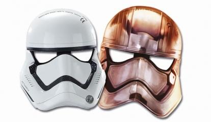 """Maskid """"Star Wars"""" (6 tükki)"""