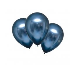 Metalliseeritud õhupall, taevasinine (30 cm)