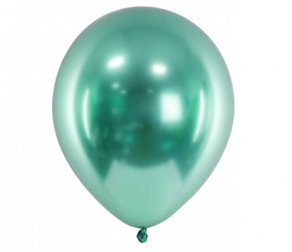 Metalliseeritud õhupall, piparmündi värvi (30 cm)