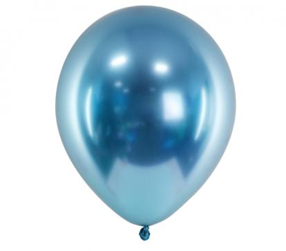 Metalliseeritud õhupall, sinine (30 cm)