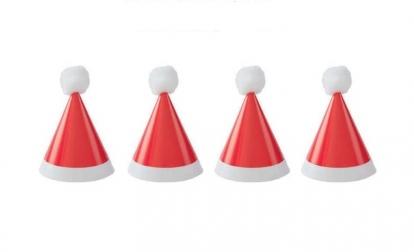 """Minimütsid """"Jõuluvana"""" (8 tk.)"""