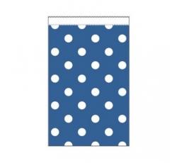 Mini kinkekotid, sinised täpilised (20tk)