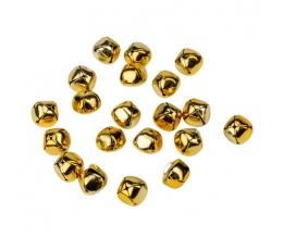 Mini kuljused, kuldsed (20 tk. 1,5 cm)
