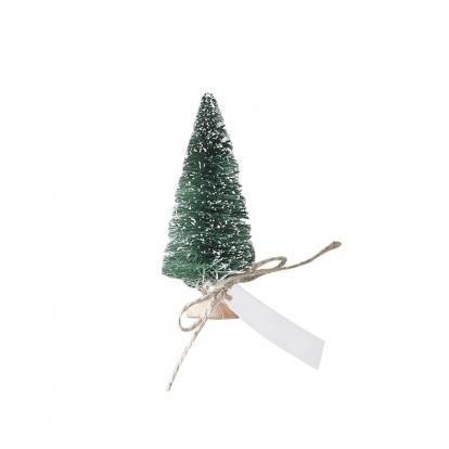 """Minikaunistused-nimekaardid """"Rohelised jõulukuused"""" (6 tk)"""
