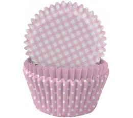 Muffinivormid, roosad (75 tk.)