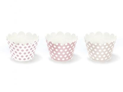 Muffinivormid, roosad-täpilised (6tk)