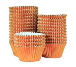 Muffinivormid, roosakas-kuldne, fooliumist (45 tk.) 1