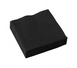 Mustad salvrätikud (20 tk)