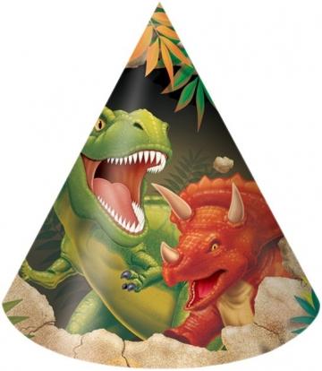 """Mütsid """"Dinosaurus Dino"""" (8 tk.)"""