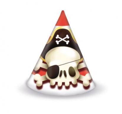"""Mütsid """"Piraadid"""" (6 tk.)"""