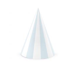 Mütsid, sini-valge triibuline (6 tk)