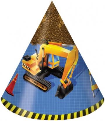 """Mütsid """"Väike ehitaja"""" (8 tk.)"""