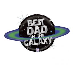 "Õhupall ""Best Dad in the Galaxy"" (79 cm)"