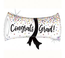 """Õhupall """"Congrats, Grad!"""" (79 cm)"""