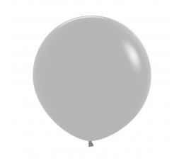 Õhupall, hall matt (90 cm)