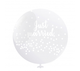 "Õhupall ""Just Married"" (6 tk./50 cm)"