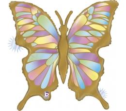 """Õhupall """"Kuldne liblikas"""", matt (84 cm)"""