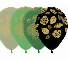 """Õhupall """"Kuldsed troopilised lehed"""" (30 cm)"""