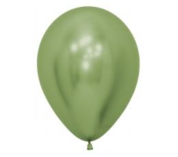 Õhupall, metalliseeritud salatiroheline (30 cm)