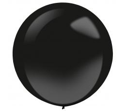 Õhupall, must ümmargune (61 cm)