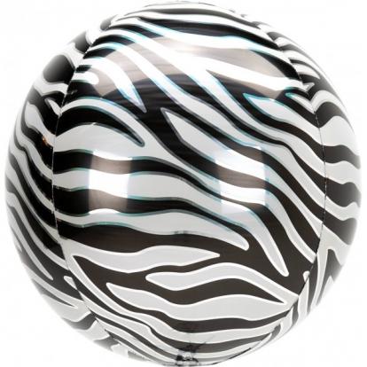 """Õhupall-orbz """"Sebra"""" (38x40 cm)"""