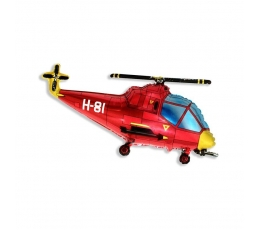 "Õhupall ""Punane helikopter"" (60 cm)"