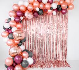 Õhupall roosakas kuldne pärlmutter (30 cm) 1
