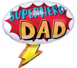 "Õhupall ""Superhero Dad"" (68x66 cm)"