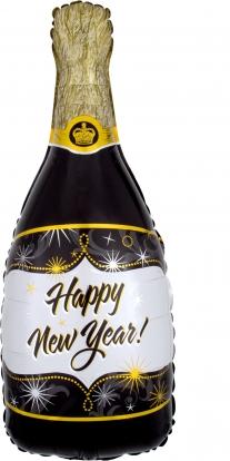 """Õhupall,  """"Uue aasta šampus"""""""