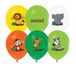 """Õhupallid """"Safari"""" (5 tk / 30 cm)"""