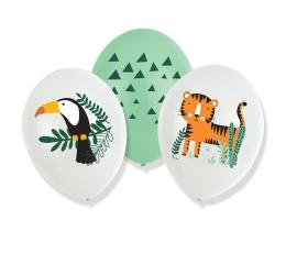 """Õhupallid """"Safariloomad"""" (6 tk. / 27 cm)"""