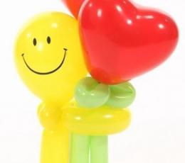 """Õhupallifiguur """"Naeratus südametega"""" 1"""