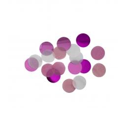 Paberkonfetid, roosa (15 g)