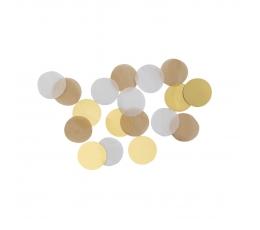 Paberkonfetid, roosakas-kuldsed (15 g)