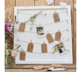 Soovide raam puidust lõksudega