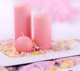 Pärlivanik,roosa (1,3 m) 1