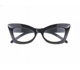 Pidulikud prillid, mustad